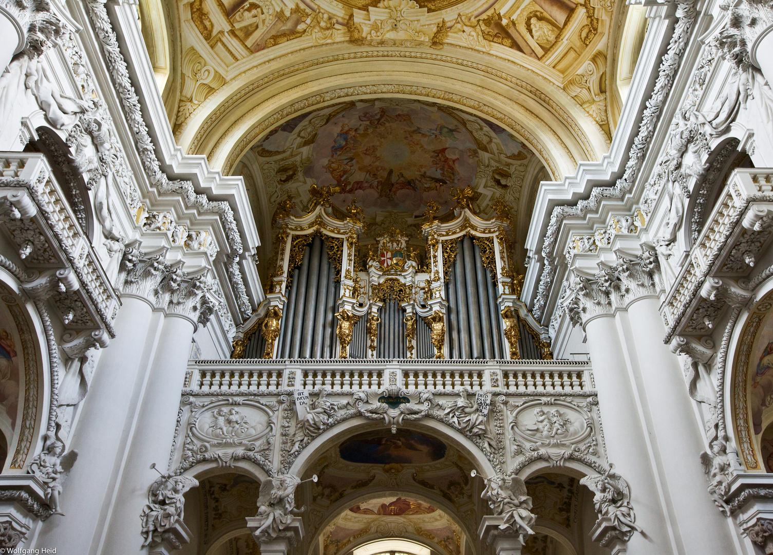 Die Orgelpfeifen v. Stift St. Florian