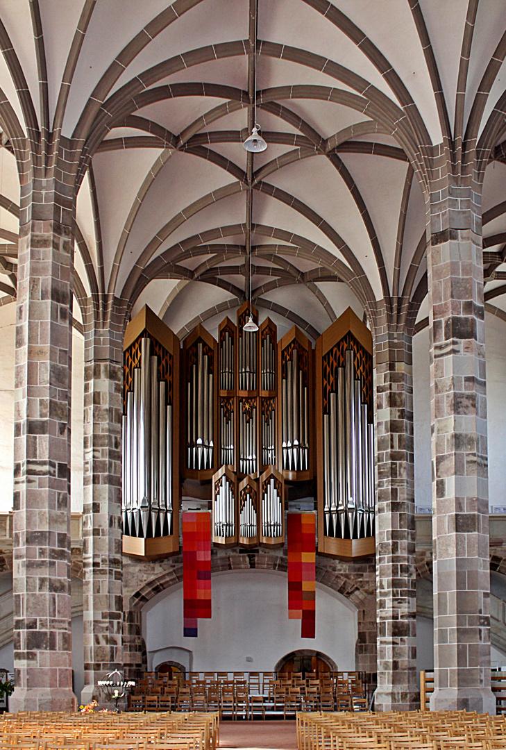 Die Orgelseite