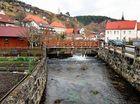Die Ortschaft Pottenstein