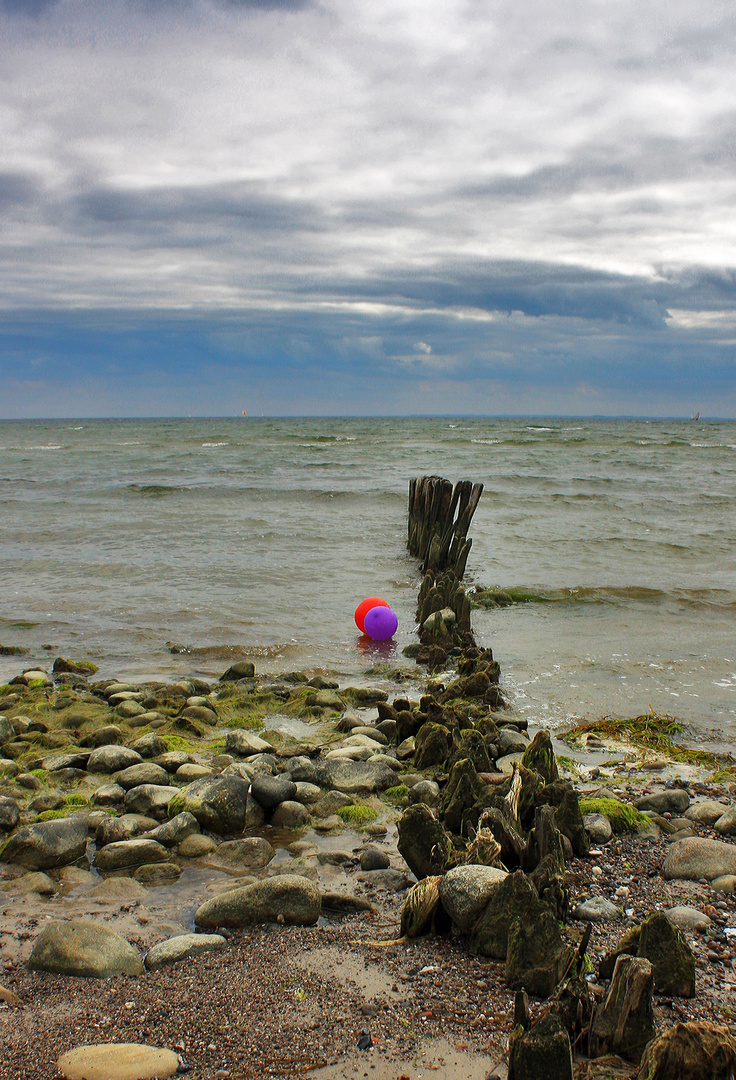 Die Ostsee feiert den Frühling...