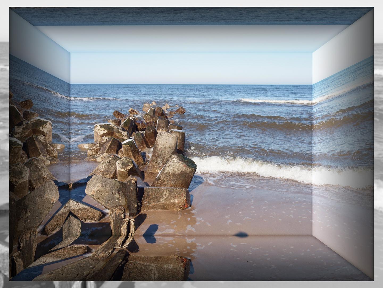die Ostsee in der Spiegelbox