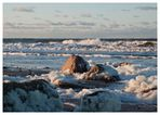 die Ostsee schäumt
