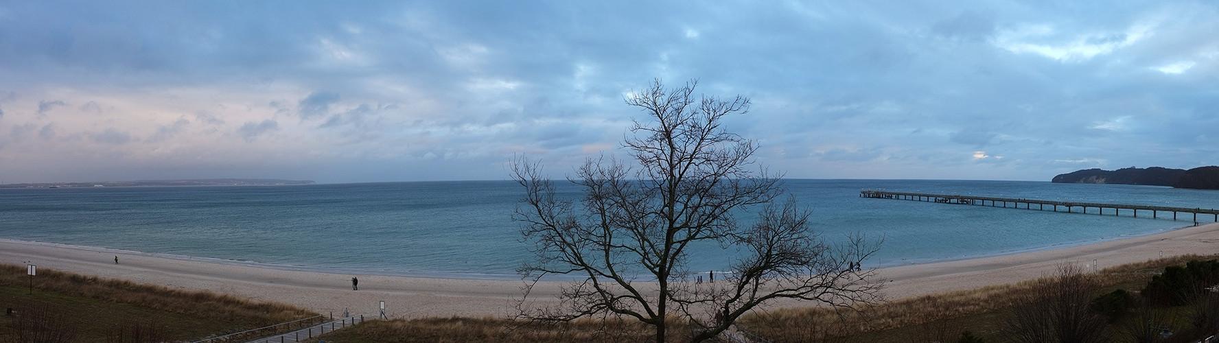 Die Ostsee vor Binz auf Rügen