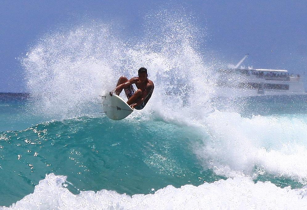 Die passende Welle erwischen