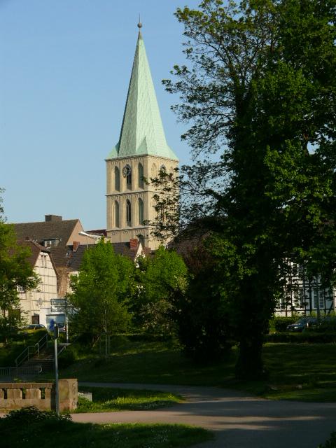 Die Paulus-Kirche in Hamm