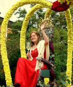 Die Pfälzische Weinkönigin Gabi Klein