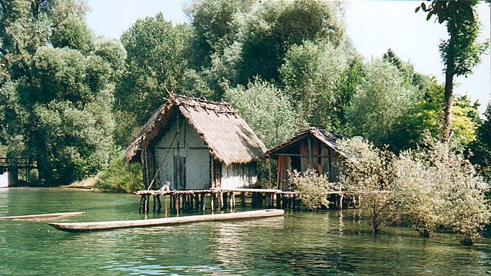 Die Pfahlbauten am Bodensee