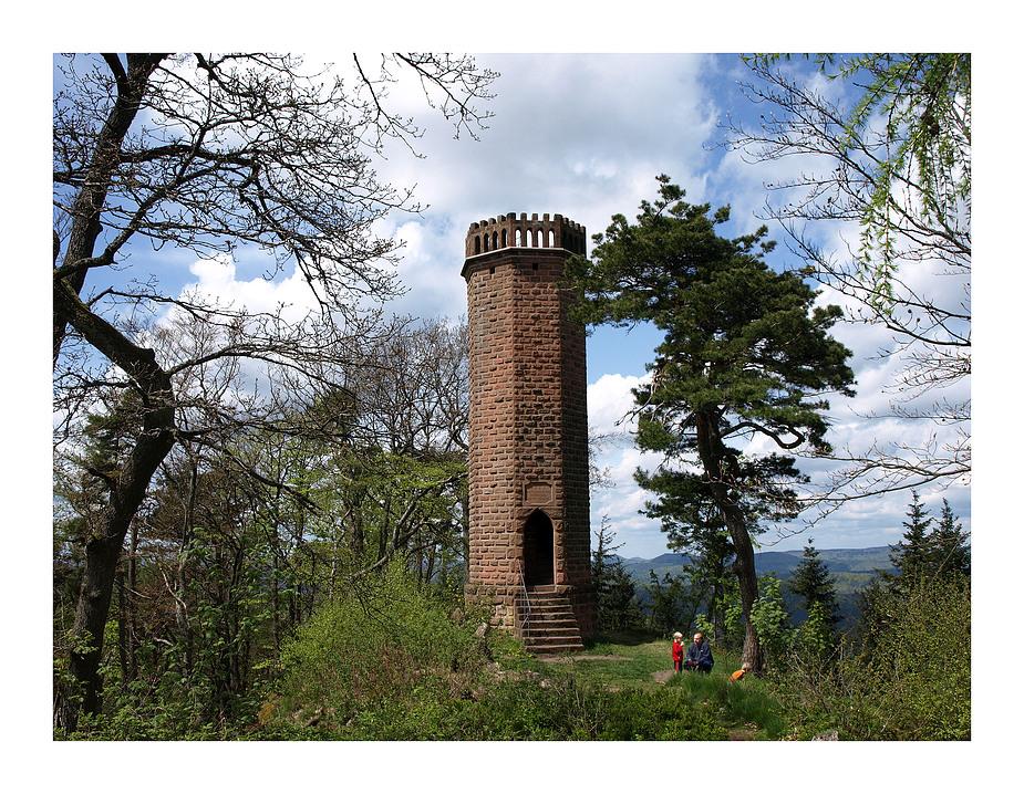 Die Pfalz - Rehbergturm von 1862