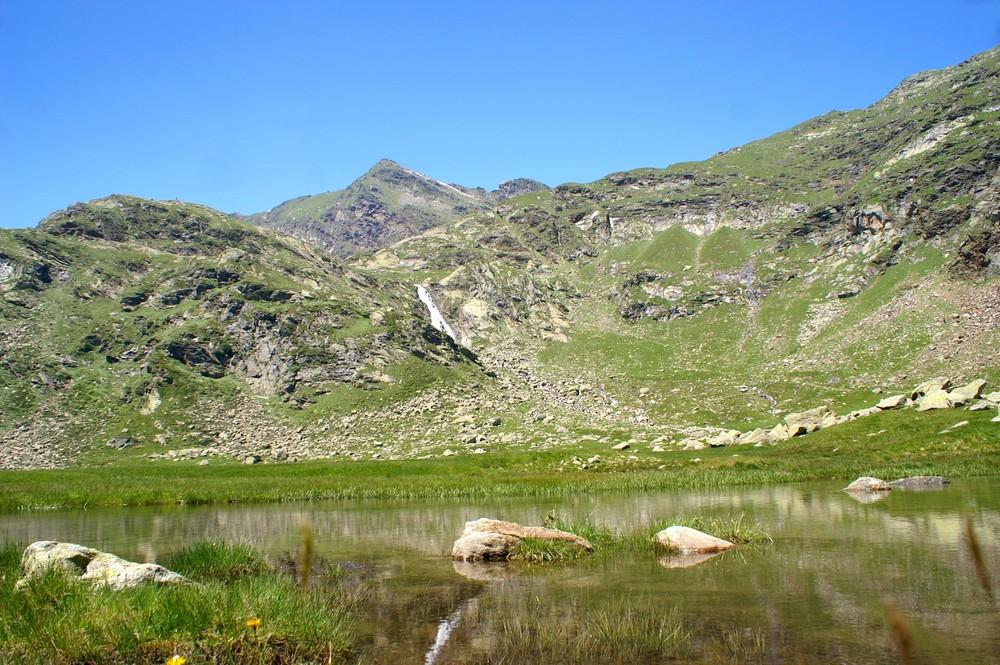Die Pfitscher Lake