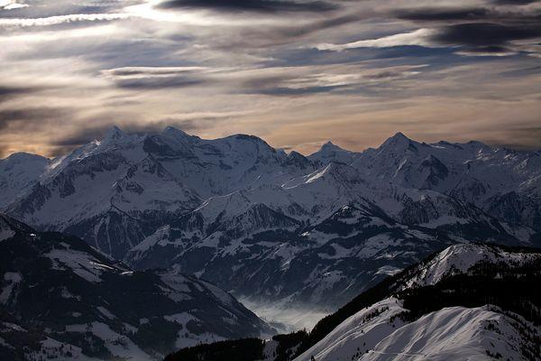 Die Pinzgauer Berge
