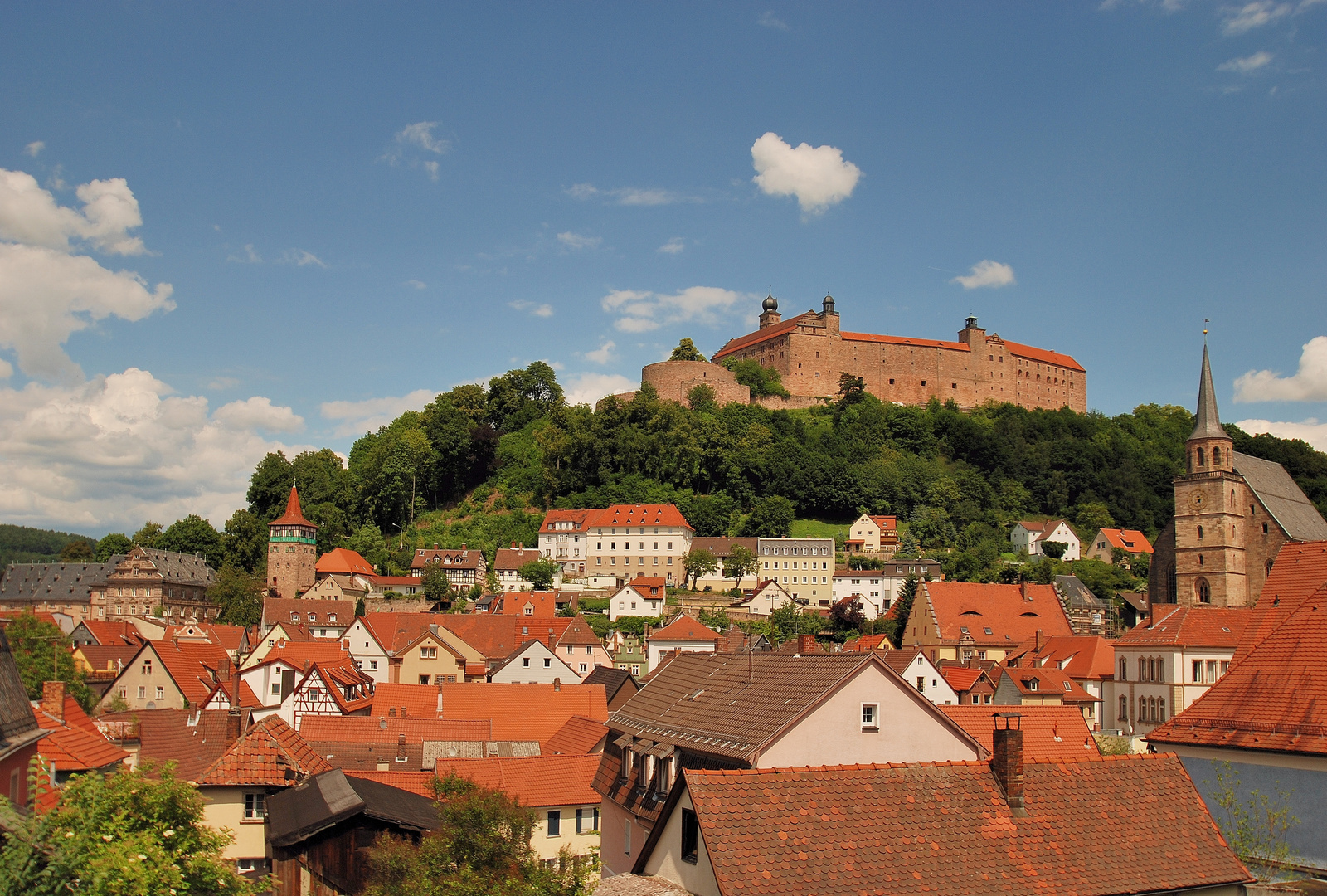 Die Plassenburg ob. Kulmbach