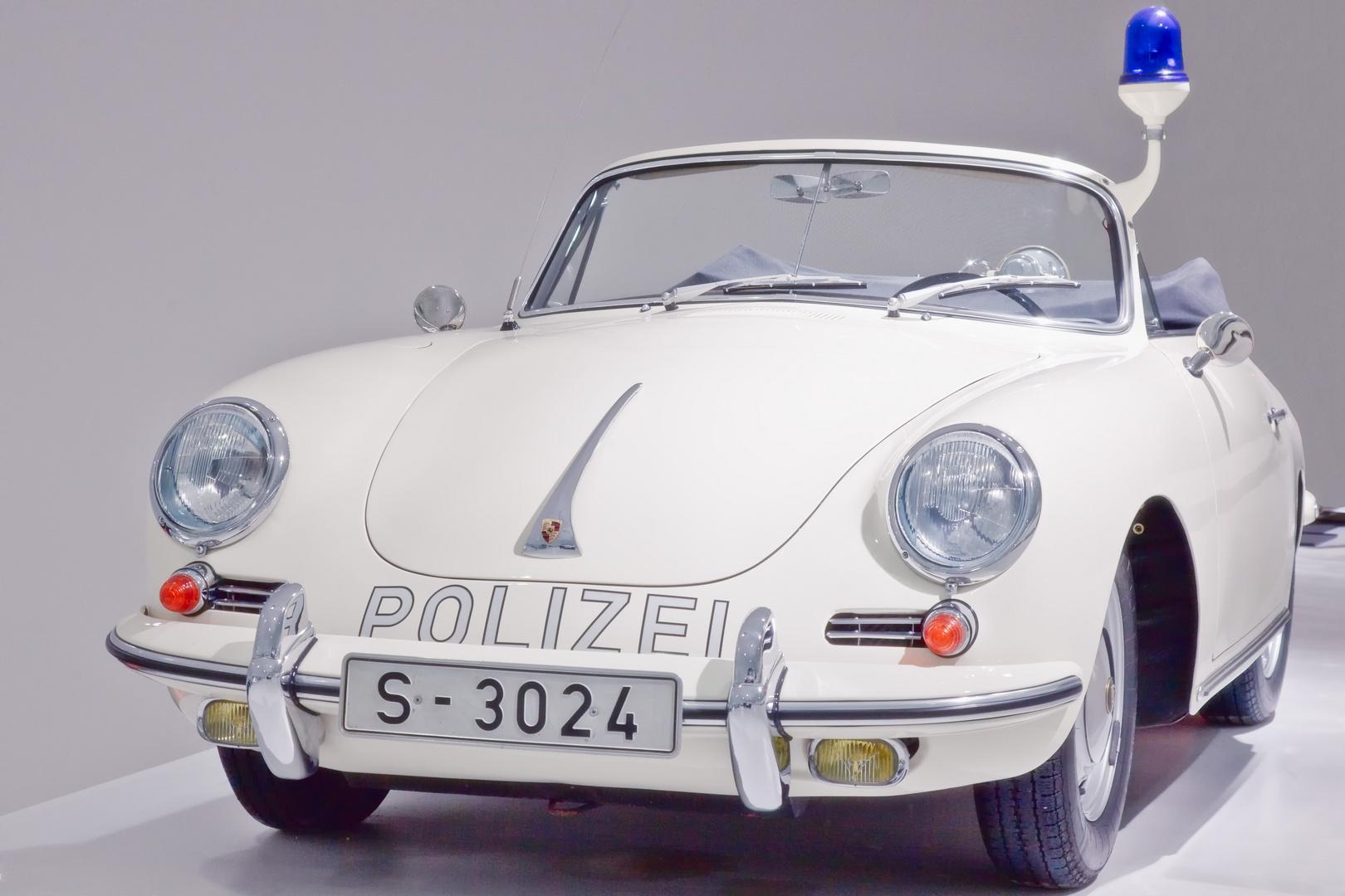 Die Porsche Polizei