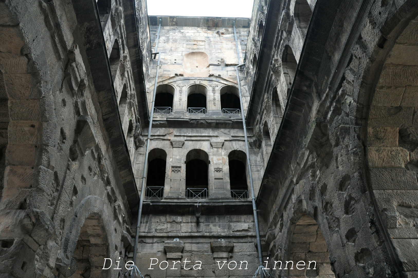 Die Porta von Innen