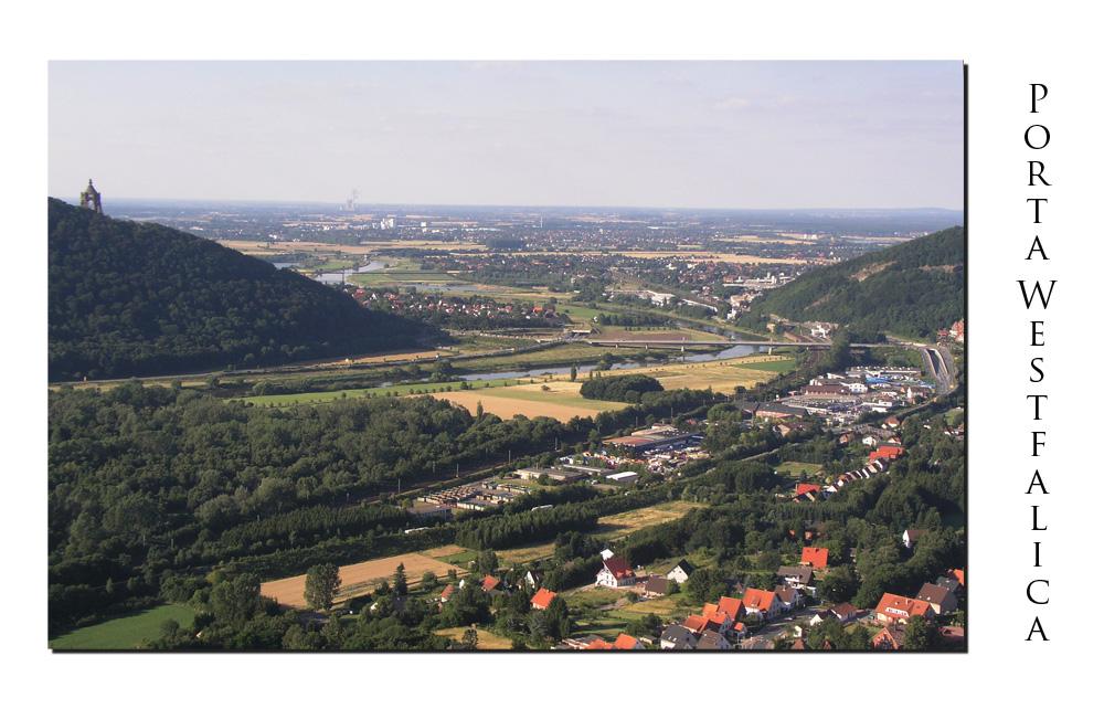 Die Porta Westfalica