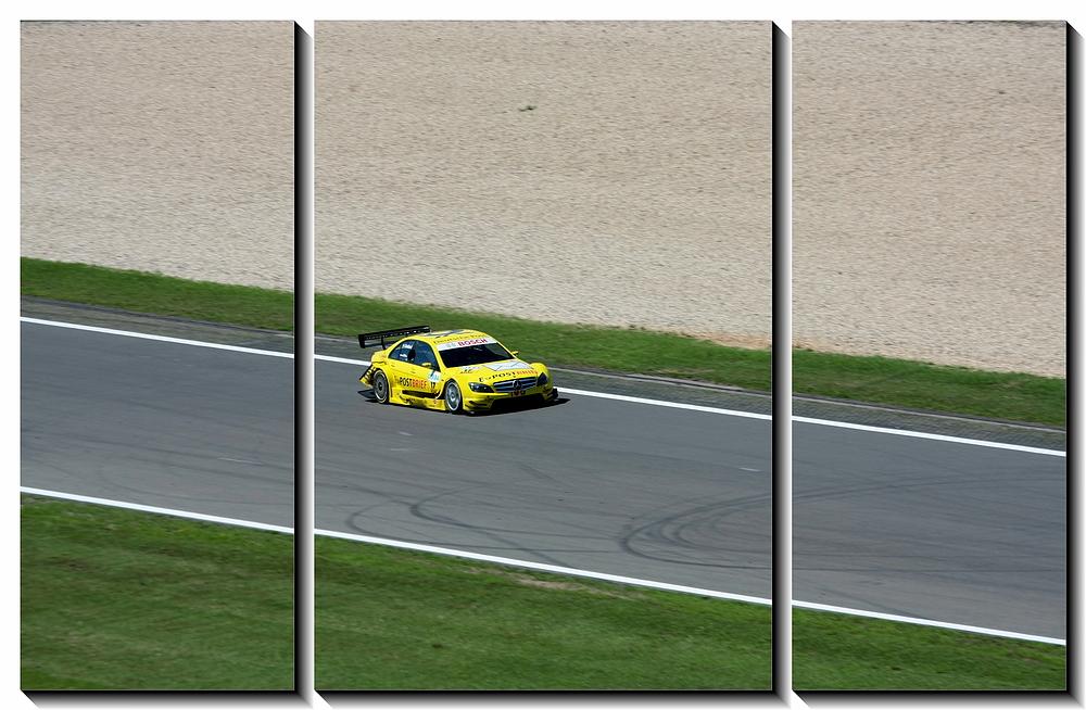 die Post kommt ... Nürburgring DTM 2010