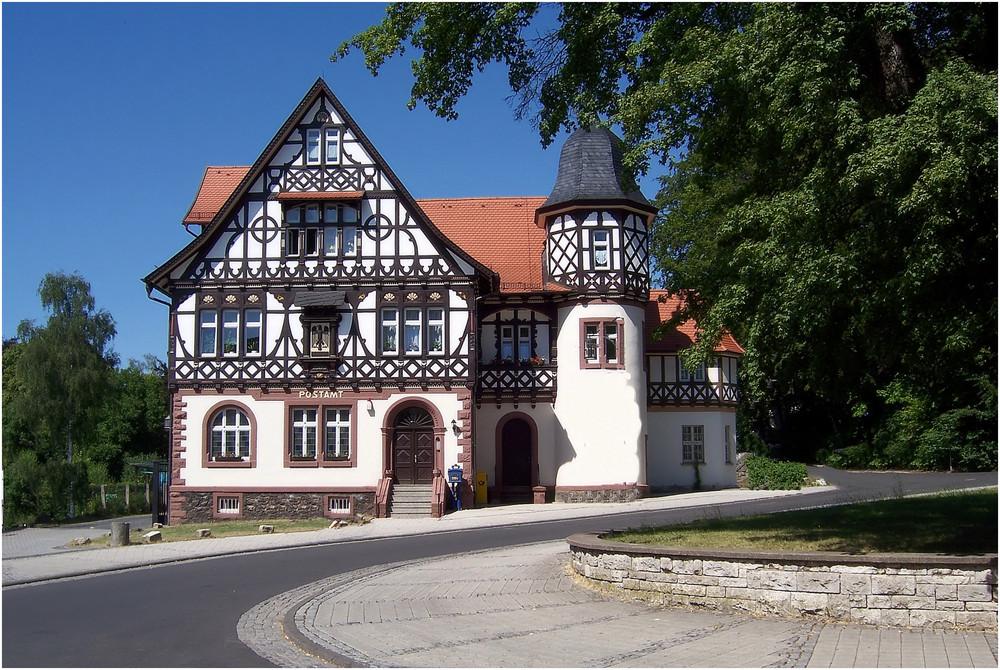 Die Post von Bad Liebenstein / Thüringen