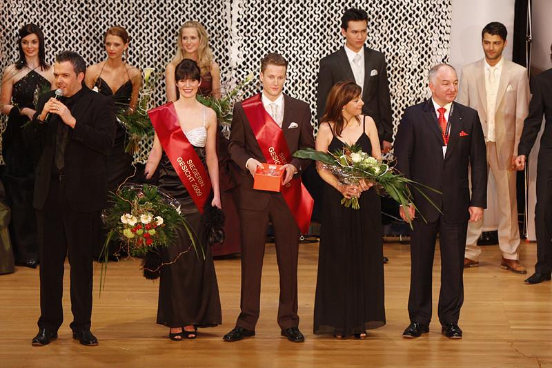 Die Prämierung der Gewinner Gesicht 2009