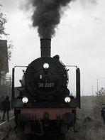 die preußische P8 unter Dampf