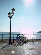 Die Promenade von Santa Eulalia auf Ibiza