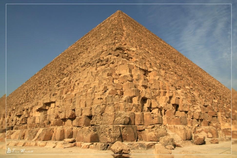 die Pyramide von Gizeh