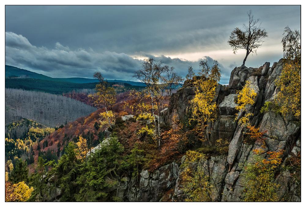 Die Rabenklippe im Harz