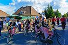 Die Rad fahrende Musik Kapelle aus den Niederlanden