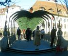 Die Rathausbrücke ...