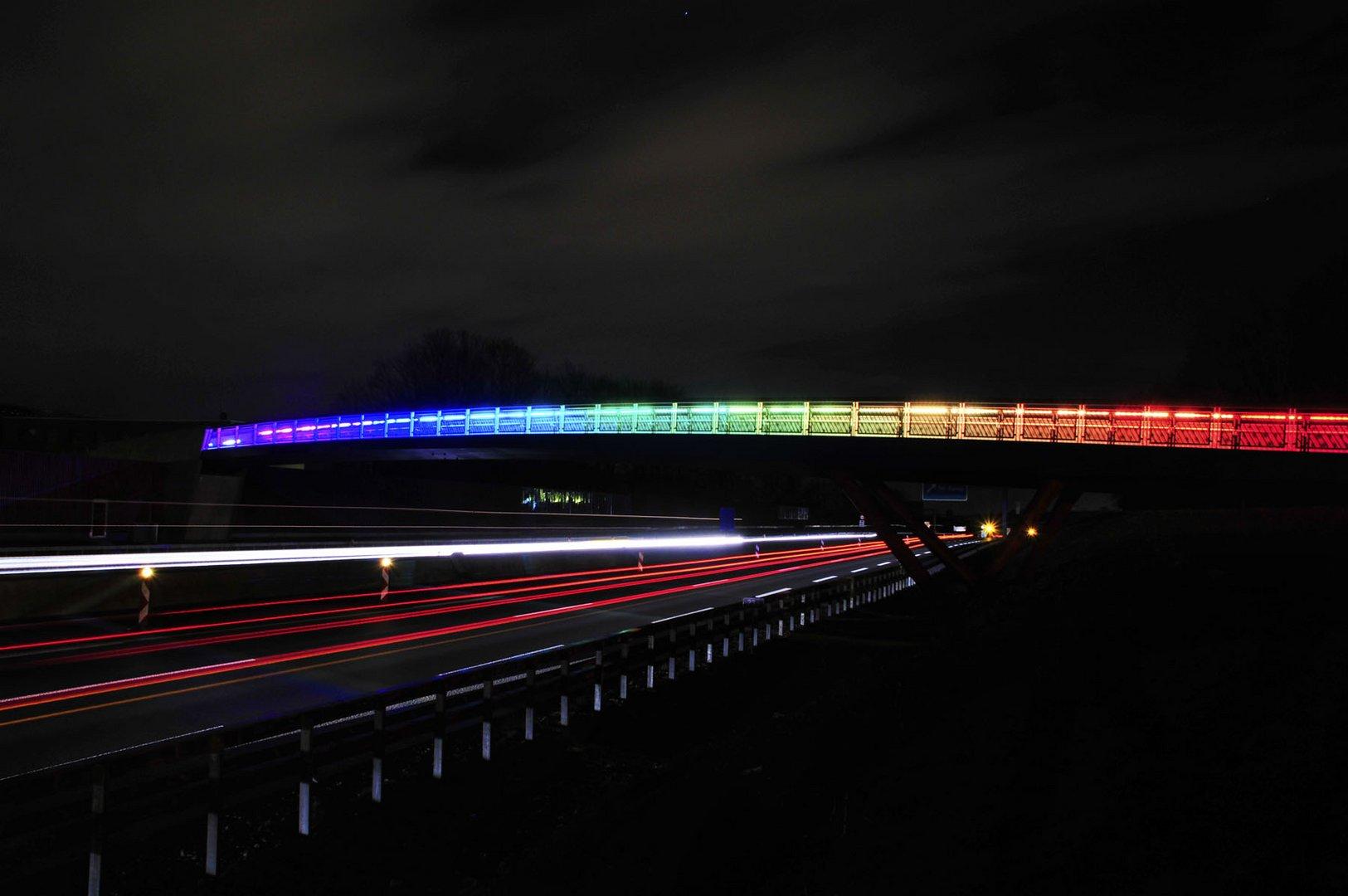 Die Regenbogenbrücke von Dortmund