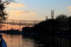 Die Rehberger Brücke oder auch Slinky Springs