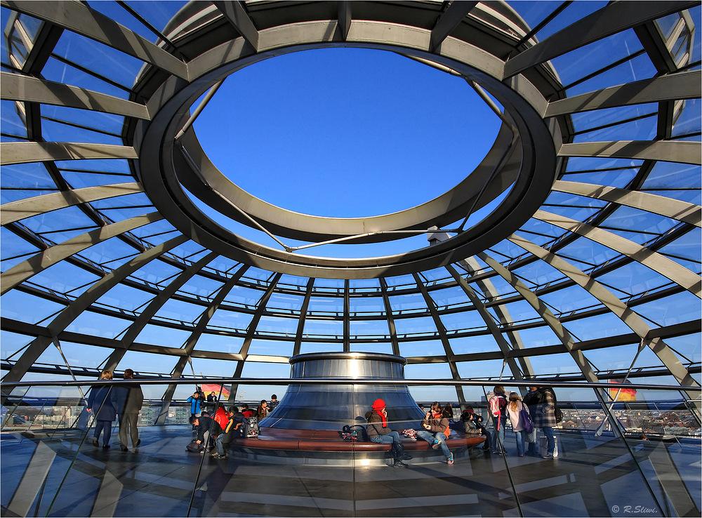 Die Reichstagskuppel Foto & Bild | deutschland, europe ...  Die Reichstagsk...