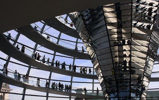 Die Reichstagskuppel und Ihre Besucher