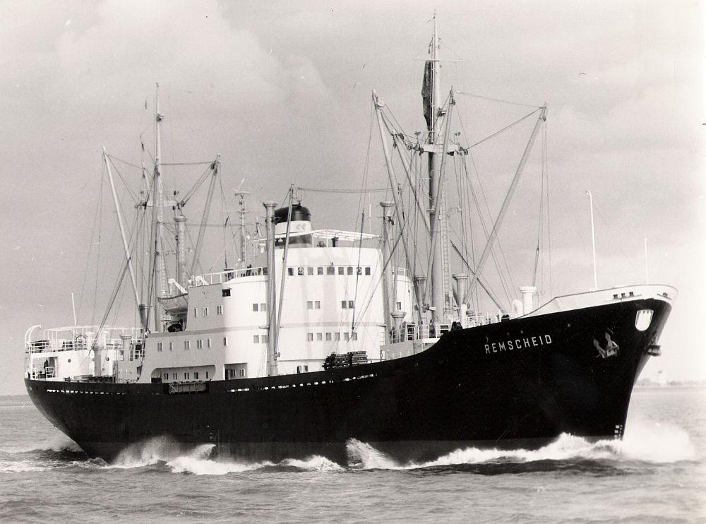 Die REMSCHEID am 20.08.1967 vor Cuxhaven