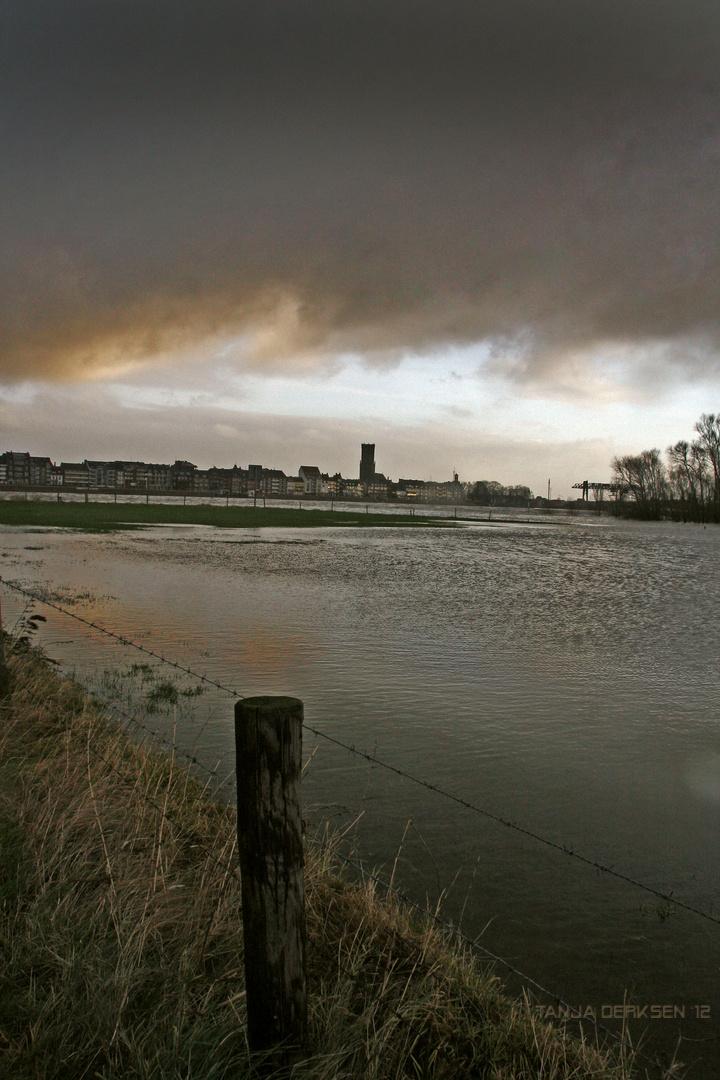 Die Rheinseite