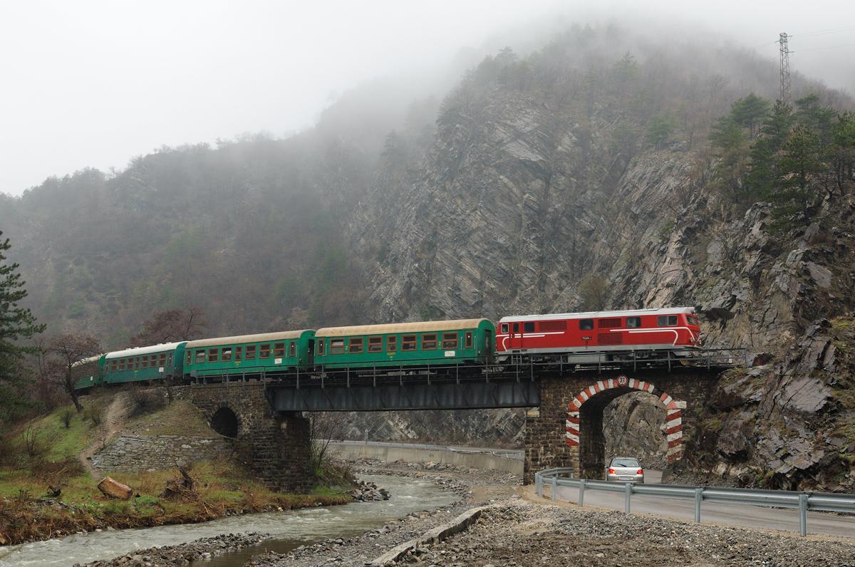 Die Rhodopenbahn auf Reisen