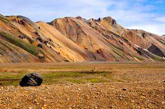 Die Rhyolithberge von Landmannalaugar/ Iceland