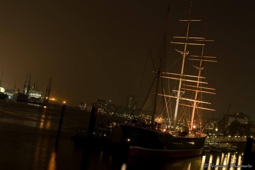 Die Rickmer Rickmers - ein Segelschiff aus vergangener Zeit