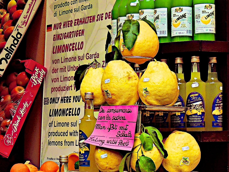 Die Riesenzitronen von Limone