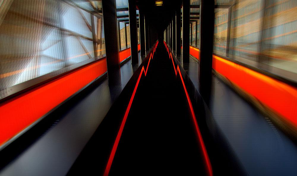 Die Rolltreppe