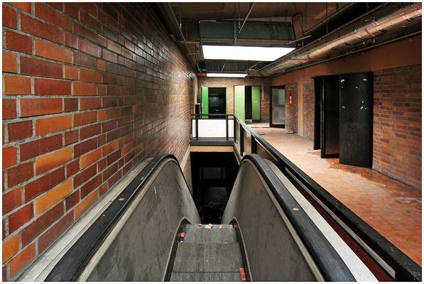 Die Rolltreppe...