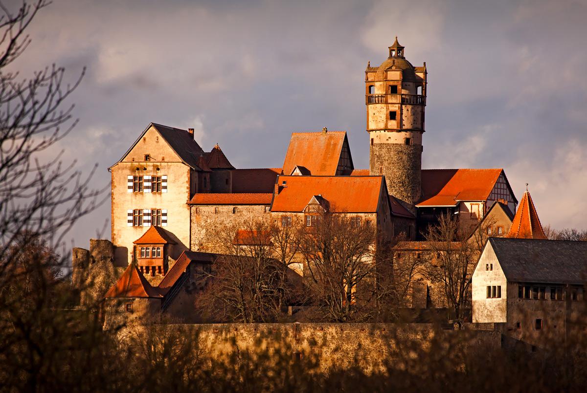 Die Ronneburg - Frühling 2014