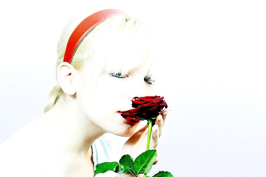 Die Rosenschnupperin