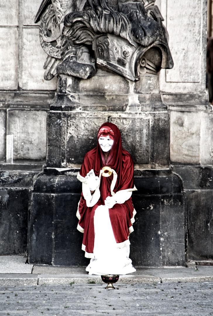 Die rote Robe
