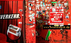 Die rote Wand