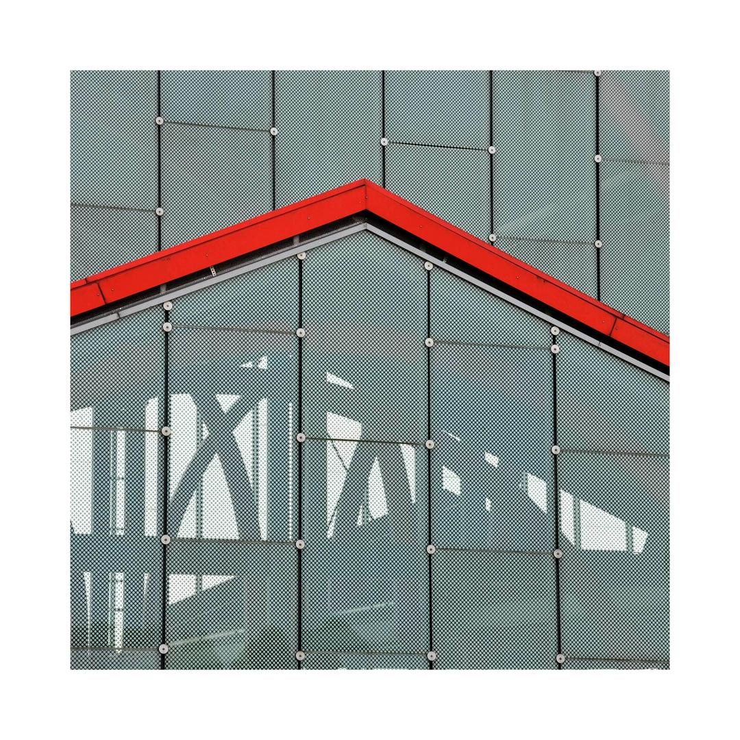 Die roten Dächer .