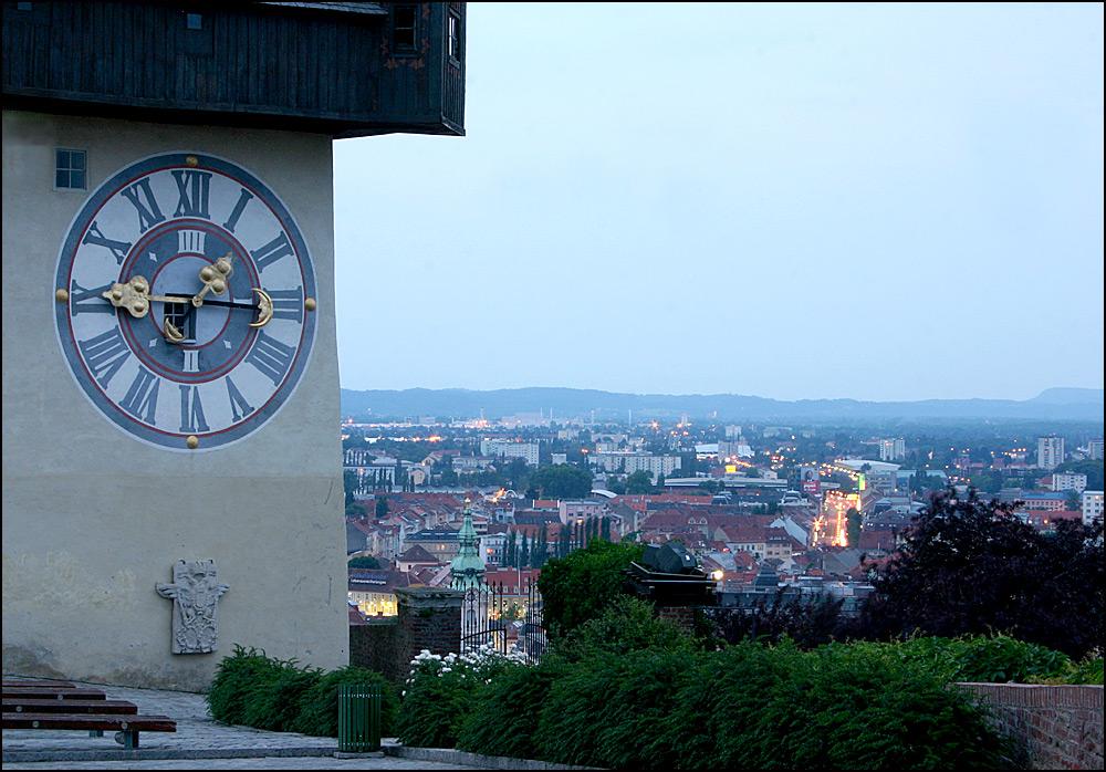 Die roten Dächer von Graz I