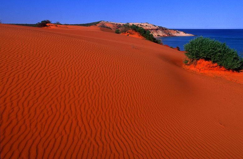 Die Roten Dünen am Cape Peron