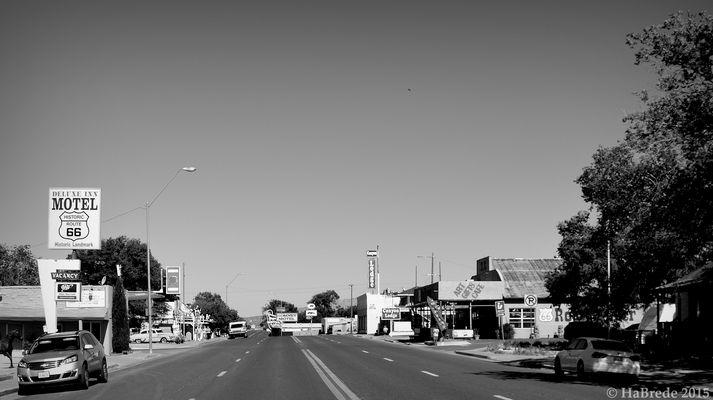 Die Route 66 bei Seligman