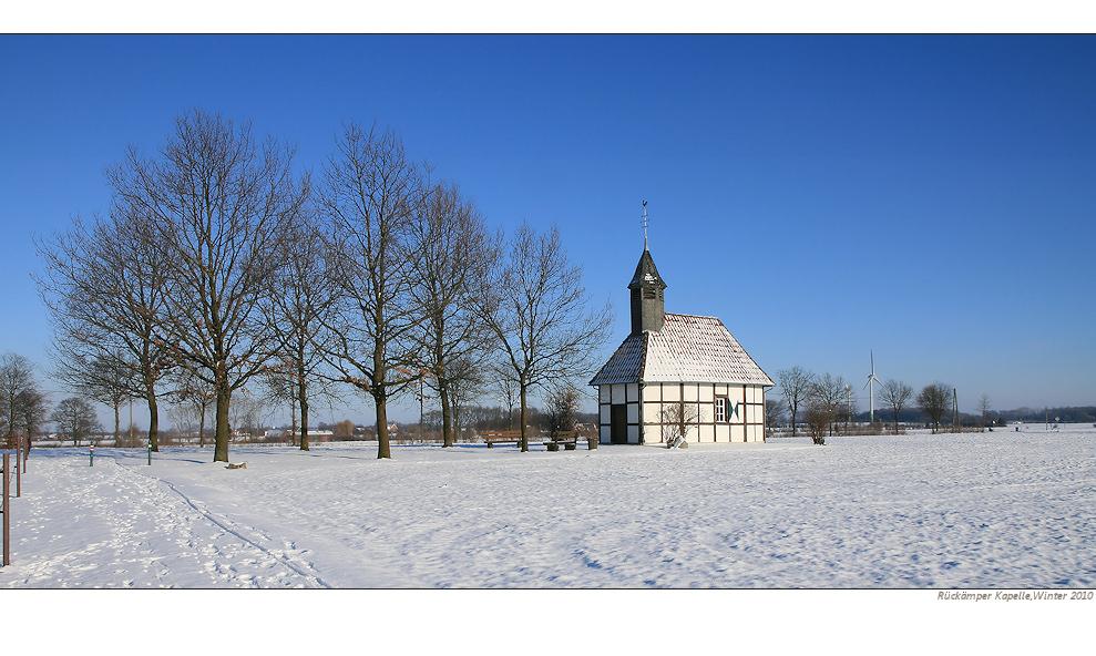 Die Rückämper Kapelle....