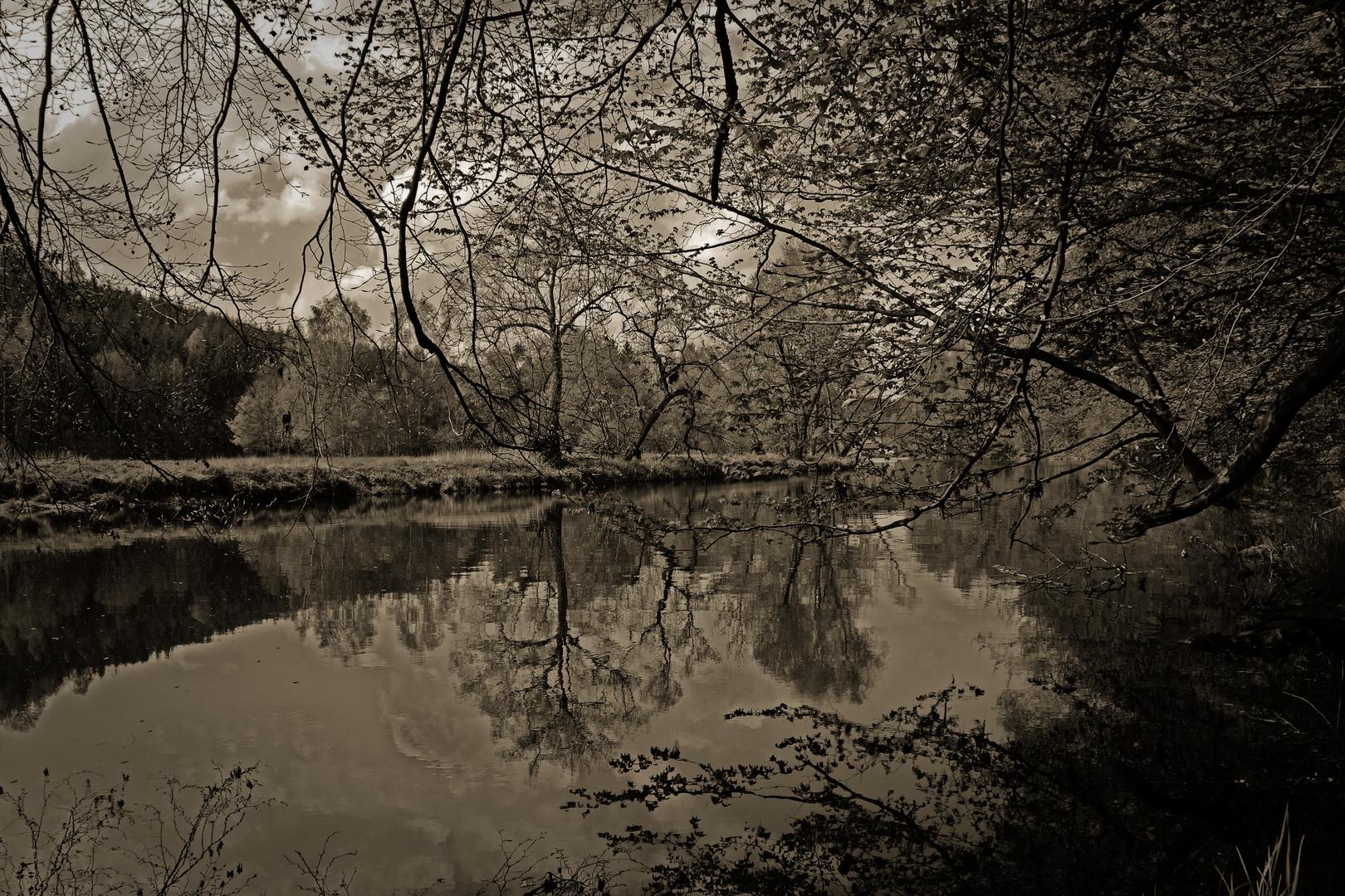 Die Ruhe am Fluß...