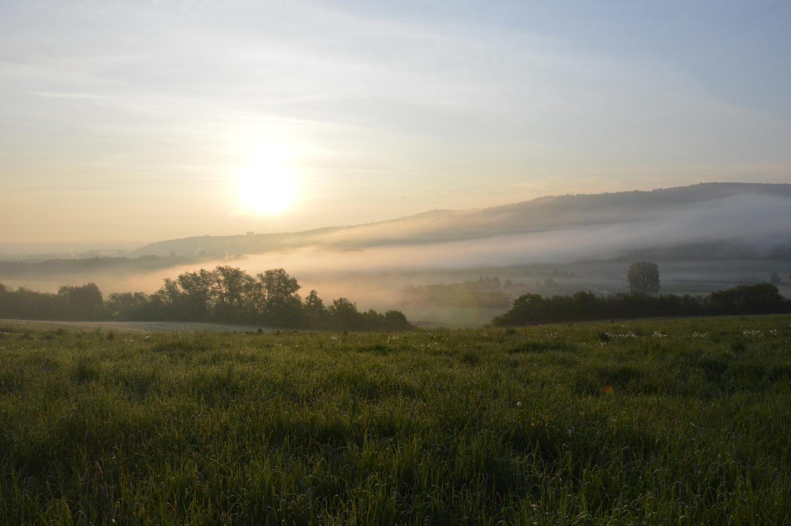 Die ruhe am Morgen